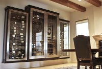 Glass Wine Cellar  Custom Cabinet or Wine Room?  IWA ...