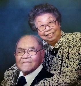 Sue's parents, Jack Yutaka and Clara Sato.