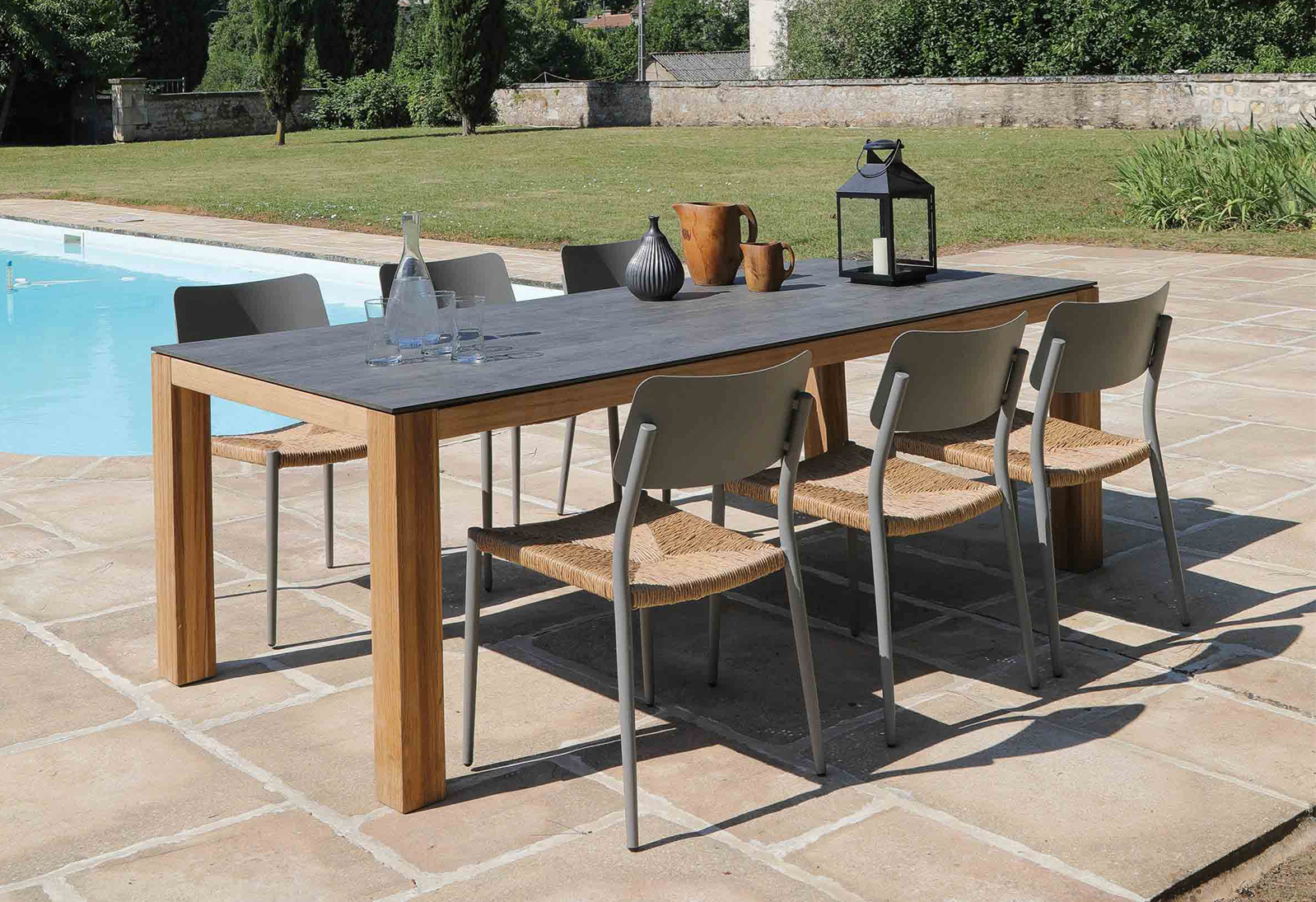 Proloisirs Chaises   Chaise Metal Table Jardin Metal Mentaires ...