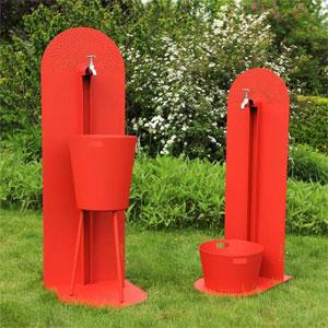 laorus r invente la fontaine de jardin fontaine moderne. Black Bedroom Furniture Sets. Home Design Ideas