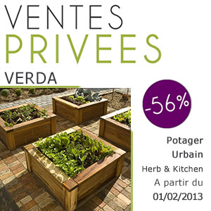 Vente priv e exclusive sp ciale herb kitchen de verda le blog jardinchic - Vente privee jardinage ...