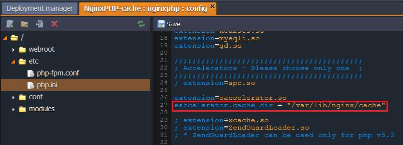 Nginx_eaccelerator_cache