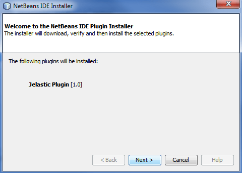 installation of jelastic plugin
