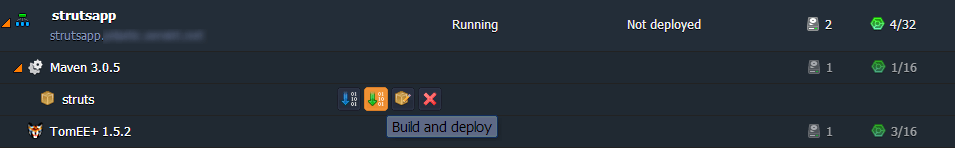Build and Deploy Project