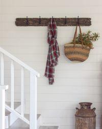 Living Room Updates: A DIY reclaimed wood coat rack ...
