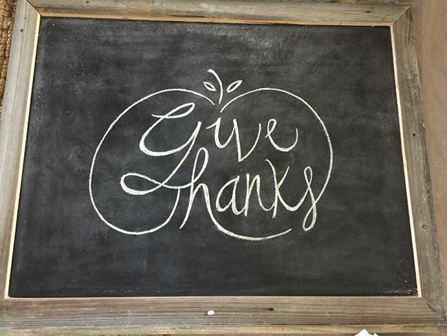 Easy Chalkboard Lettering Tutorial + Free Fall Template! Jenna Sue - chalkboard writing template