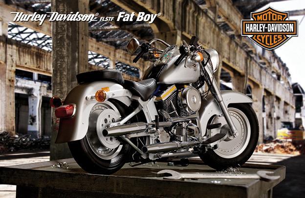 Construiser votre FatBoy Harley Davidson