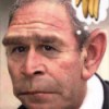 Bush as a Chimp
