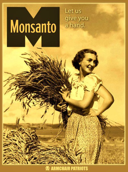 Anti-Monsanto Poster