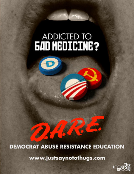 D.A.R.E - Democrat Abuse Resistance Education