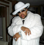 Pimp C in White fur