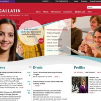 Banner Images: Creating a Brand for NYU's Gallatin School