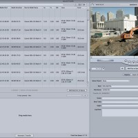 Canon's E1 Plugin for FCP - Finding the Metadata