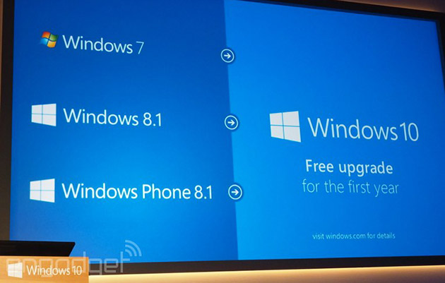 Windows 10 will be free