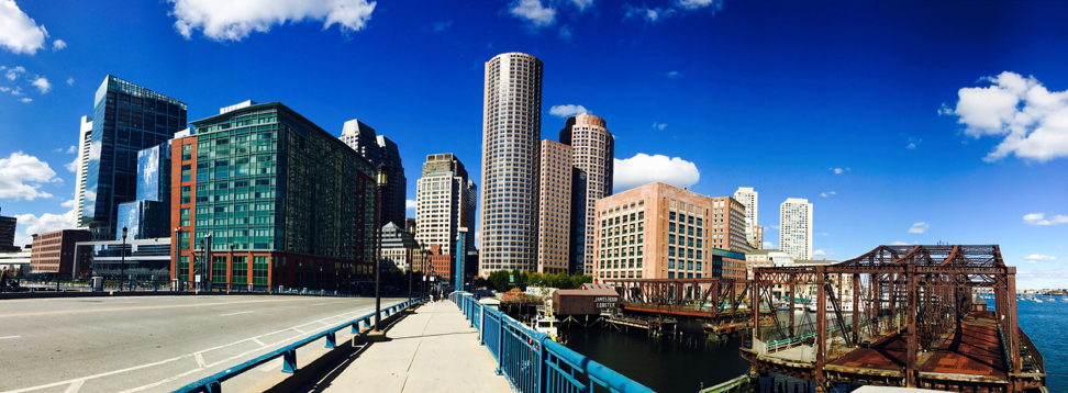 Boston Skyline from the Seaport District