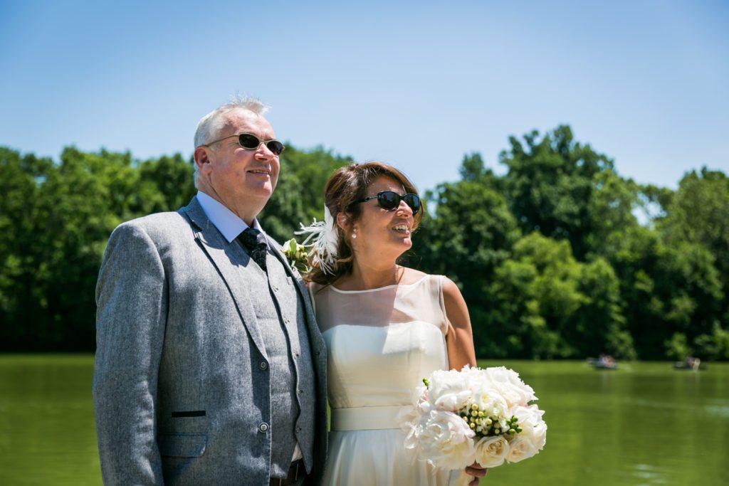 Ladies Pavilion wedding ceremony by NYC wedding photojournalist, Kelly Williams