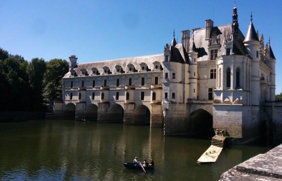 Château de Chenonceau dans la vallée de la Loire