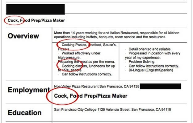 The 10 Worst Resumes the Employers Have Ever Seen