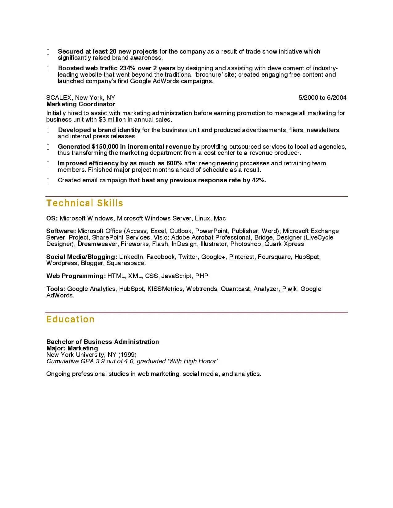 digital marketing specialist resume sample email letter spacing. Resume Example. Resume CV Cover Letter
