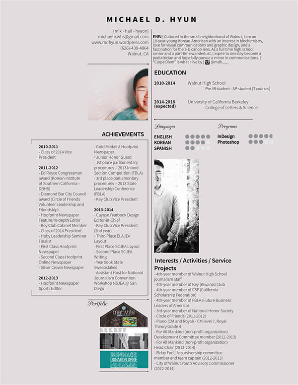 40+ Creative Resume Templates You\u0027ll Want To Steal in 2019