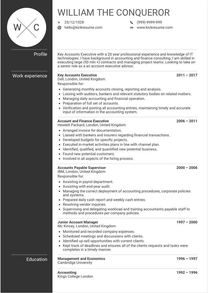 sample resume templates food service manager