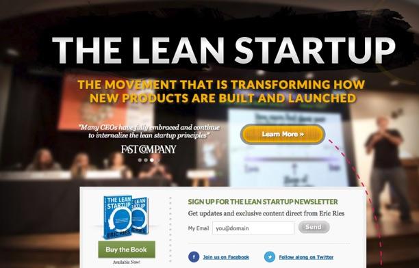lean-startup-landing-page