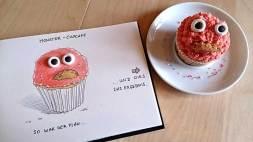 Der Monster-Cupcake-Plan - Daily Illu Tag 94 - Nadine Reitz
