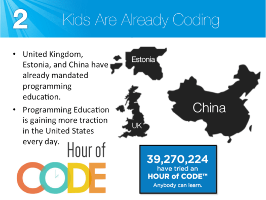 Kids are already coding