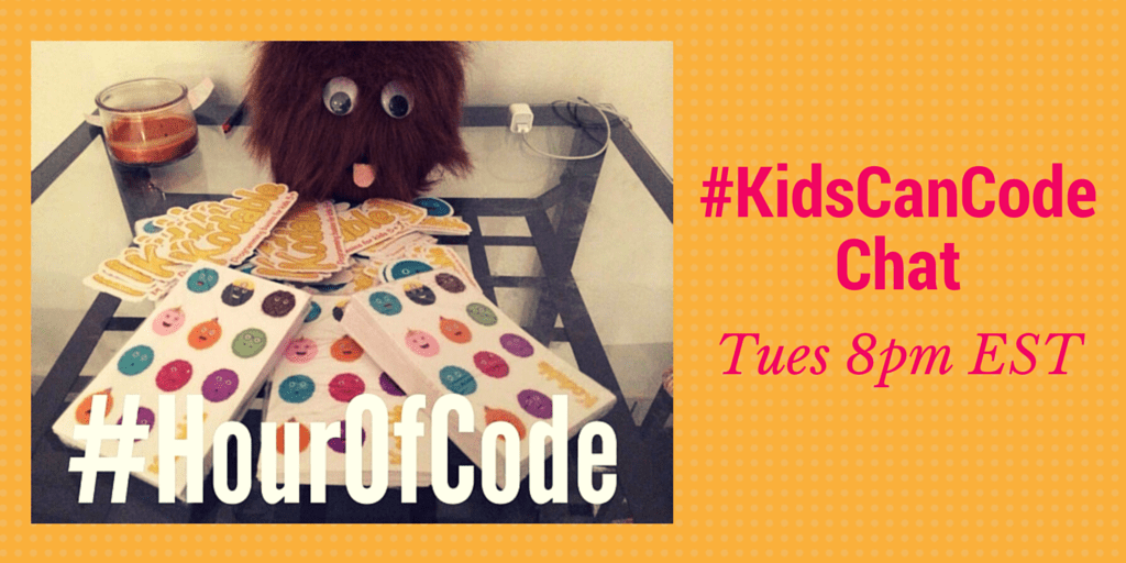 Hour Of Code #KidsCanCode Chat
