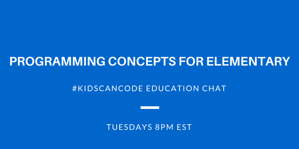 Programming Concepts for Elementary
