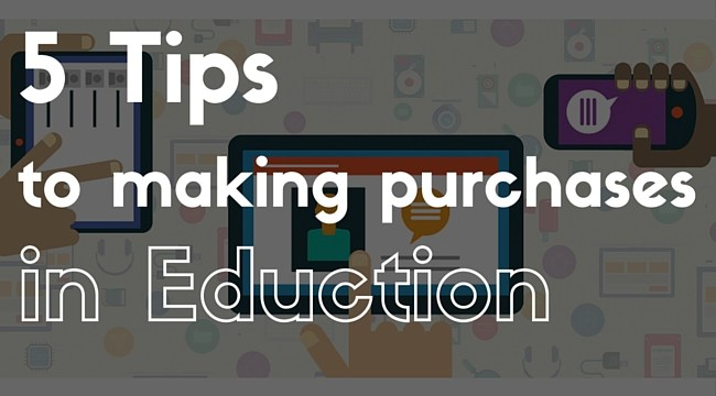 5 Tips for Making Purchases