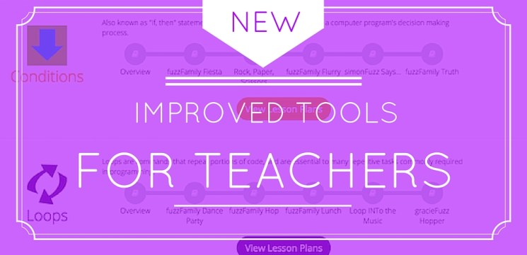 New and Improved Toos for Teachers