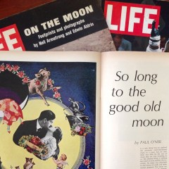 Life magazine article So Long to the Good Old Moon