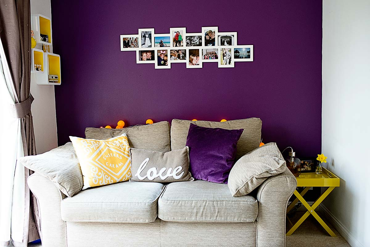 Black White And Purple Living Room Using Colors To Create Mood In A Room Purple Kovi