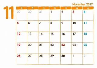 ご無沙汰してます<(_ _)>・・・10月と11月レッスンカレンダー