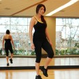 Christina doing Penny Pickers at LA Fitness - 2