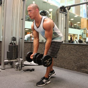 Bryant-doing-dumbbell row