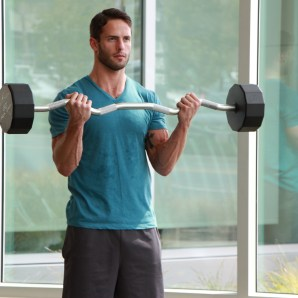 James-Performing-Drop-Set-Curls-at-LA-Fitness-2