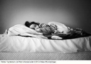 june sleeping in