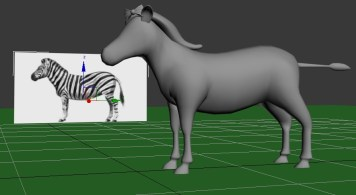 Um from Learn Safari compared to a zebra.