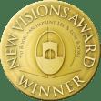 New Visions Award seal