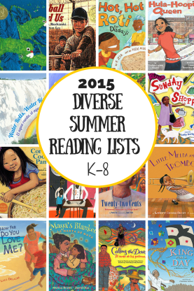 Diverse Summer Reading Lists