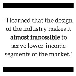 I learned that the design of the industry
