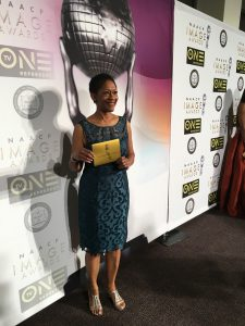 Gwendolyn Hooks at the NAACP Image Awards ceremony