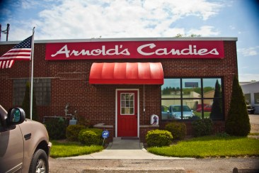 Arnold's Candies in Akron, Ohio.