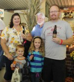 BJ, who works at Lehmans in Kidron, got a fun picture of her daughter and family with our life-size Jay Lehman stand-up figure.
