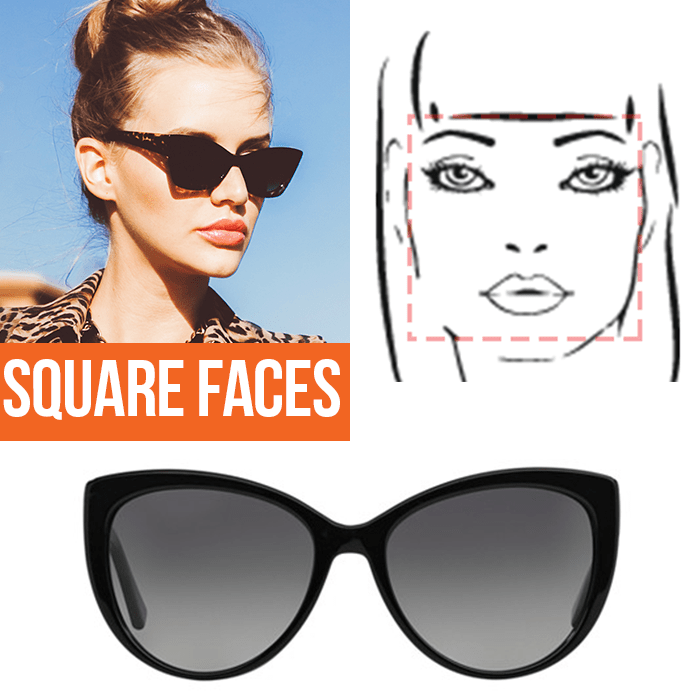 Sunglasses Shape For Square Face : A Guide to the Perfect Pair of Sunglasses