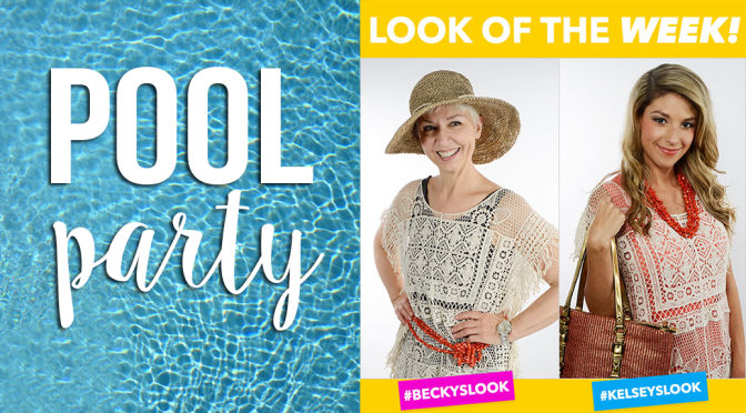 Look of the Week – July Pool Party