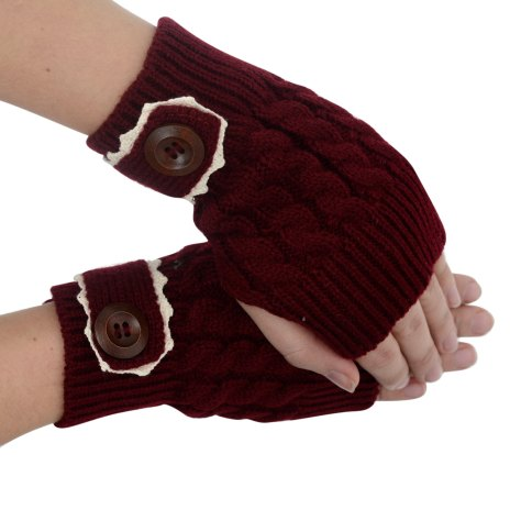 WInter Accessories - fingerless gloves