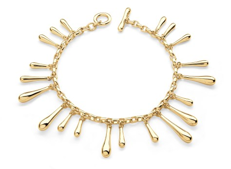 Winter Accessories - Lucy Q gold bracelet